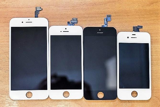 Замена модуля iPhone 4/4s/5/5s/5c/se/6/6 plus/6s/6s plus/7/7plus/8/8 plus/10/X