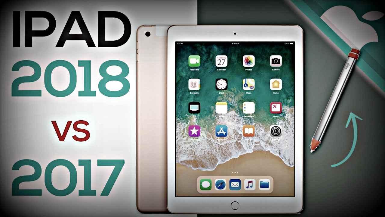 Новый iPad (2018) и iPad (2017): в чем разница? Обзор.