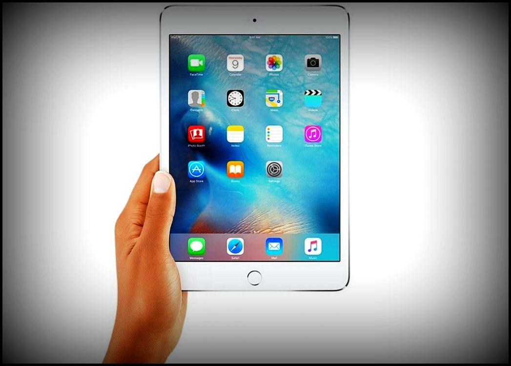 Дизайн нового iPad (2018)