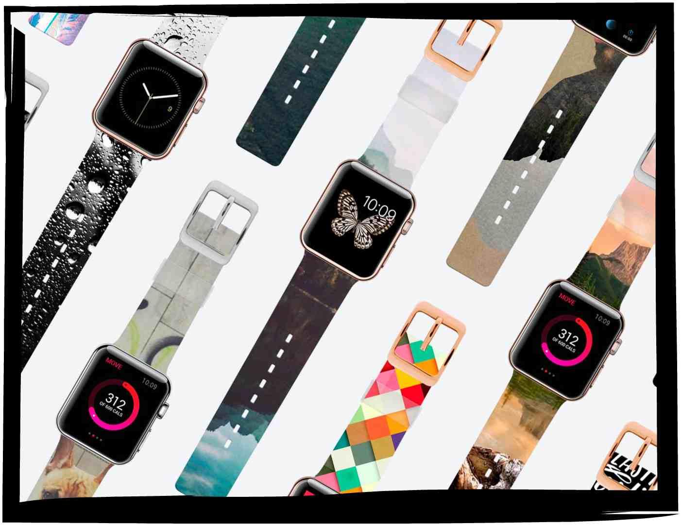 Обновленные весенние ремешки Apple Watch