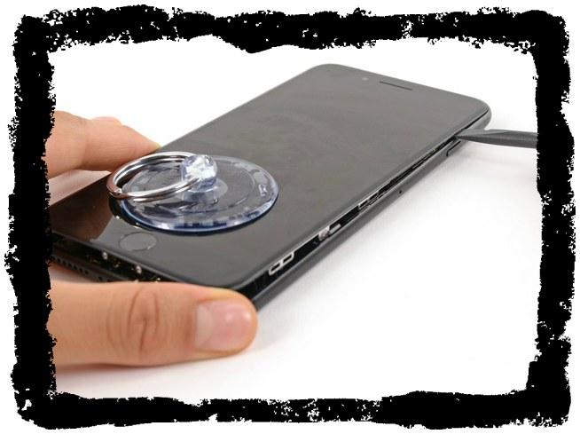 Замена экрана на iPhone, или стекла?