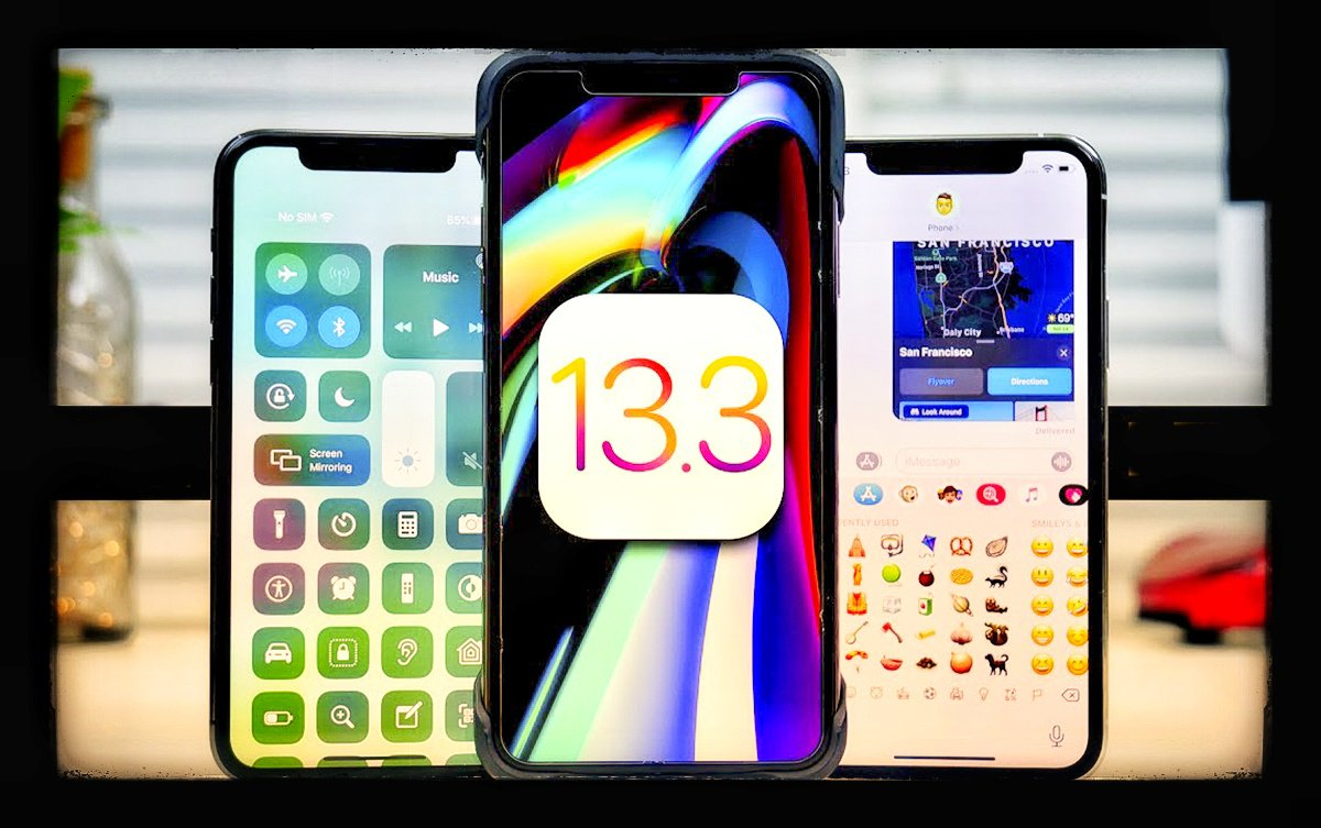 Obzor apple iphone ios 13.3